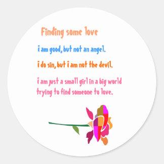 かわいい花nの一致の知恵の単語 ラウンドシール