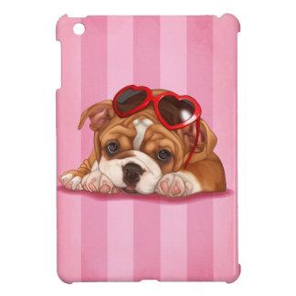 かわいい英国のブルドッグの子犬 iPad MINIケース