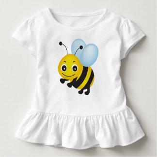 かわいい蜂のデザイン トドラーTシャツ