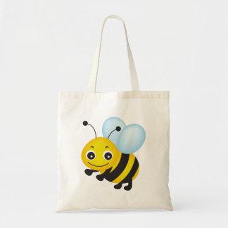 かわいい蜂のデザイン トートバッグ