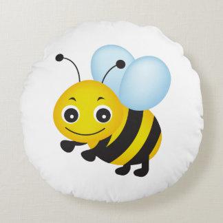 かわいい蜂のデザイン ラウンドクッション