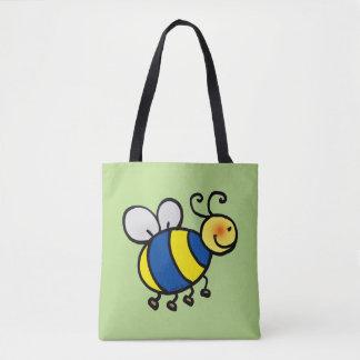かわいい蜂の漫画 トートバッグ
