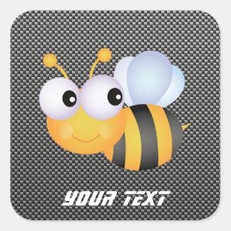 かわいい蜂; お洒落 スクエアシール