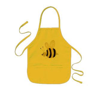 かわいい蜂 子供用エプロン