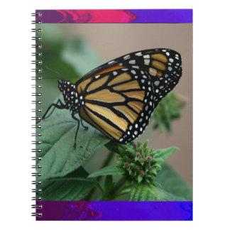 かわいい蝶昆虫の自然の子供の子供家族 ノートブック