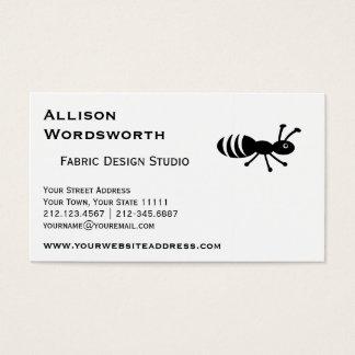 かわいい蟻またはシロアリのおもしろいな害虫駆除 名刺