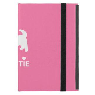 かわいい西の高地テリア- I愛Westies iPad Mini ケース
