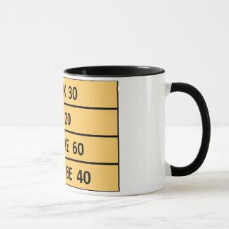 かわいい誕生日は40コーヒー・マグのデザインでなければなりません マグカップ