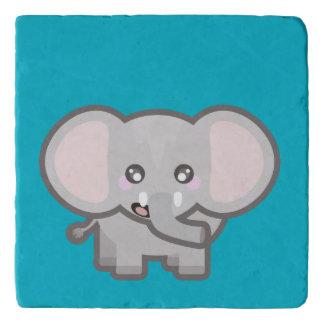 かわいい象 トリベット