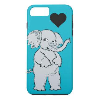 かわいい象 iPhone 8 PLUS/7 PLUSケース