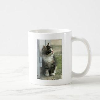 かわいい豪華な虎猫の子ネコのデザイン-そう! コーヒーマグカップ