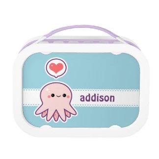 かわいい赤ん坊のタコ ランチボックス