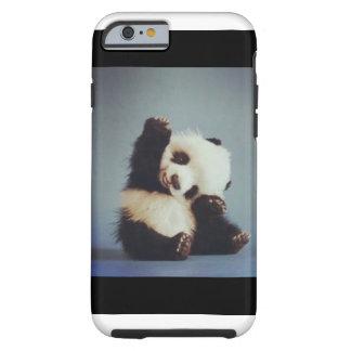 かわいい赤ん坊のパンダのiPhone 6の場合 iPhone 6 タフケース