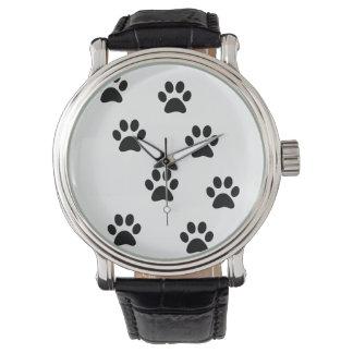 かわいい足パターン腕時計 腕時計