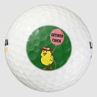 かわいい退職したなひよこ… ohそう ゴルフボール
