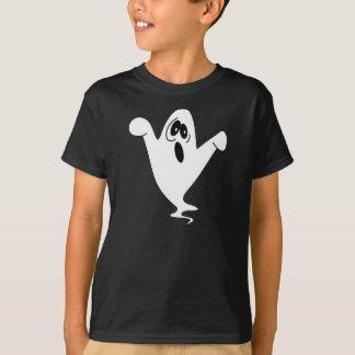 かわいい遠ぼえの幽霊ハロウィン Tシャツ