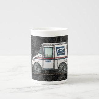 かわいい郵便トラック ボーンチャイナカップ
