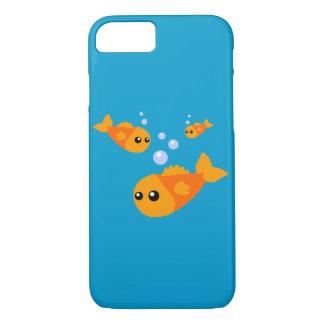 かわいい金魚のiPhone 7の場合 iPhone 8/7ケース