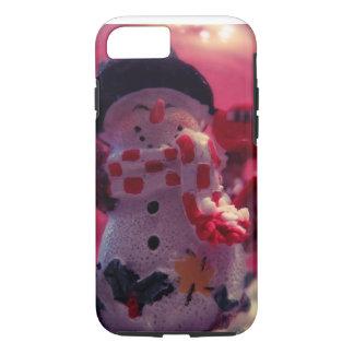 かわいい雪だるま iPhone 8/7ケース