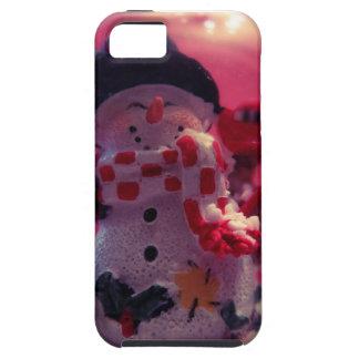 かわいい雪だるま iPhone SE/5/5s ケース