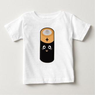 かわいい電池 ベビーTシャツ