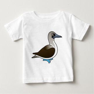 かわいい青足の最下位 ベビーTシャツ