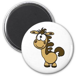 かわいい馬の漫画 マグネット