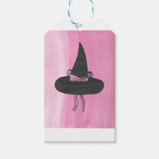 かわいい魔法使いの帽子 ギフトタグ