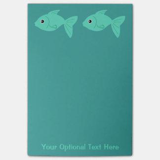 かわいい魚のポスト・イット ポストイット