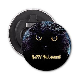 かわいい黒猫のハッピーハローウィン 栓抜き