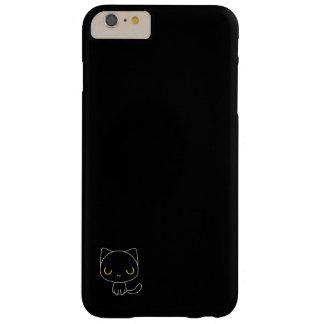かわいい黒猫 BARELY THERE iPhone 6 PLUS ケース
