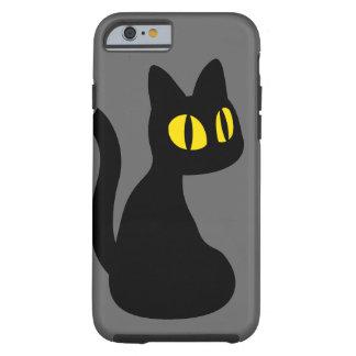 かわいい黒猫 iPhone 6 タフケース