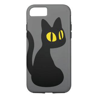 かわいい黒猫 iPhone 8/7ケース