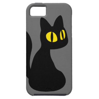 かわいい黒猫 iPhone SE/5/5s ケース