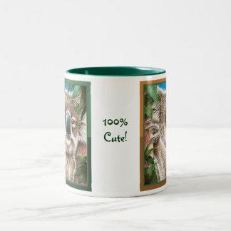 かわいい100%! コアラのマグ ツートーンマグカップ