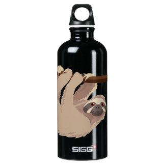 かわいい3つま先で触られた怠惰の自由のボトル ウォーターボトル