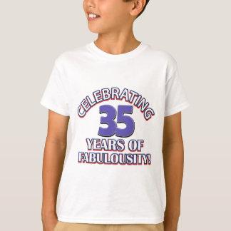 かわいい35歳のデザイン Tシャツ