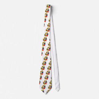 かわいい3dバセットハウンド犬 ネクタイ