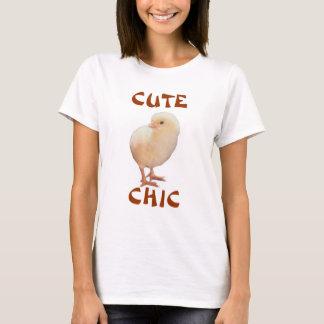、かわいい、シック Tシャツ