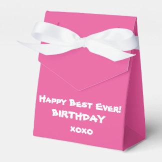 """かわいい""""幸せなベストの誕生日""""の好意箱 フェイバーボックス"""