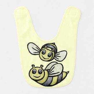 かわいい《昆虫》マルハナバチのよだれかけ ベビービブ