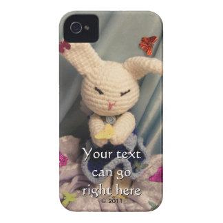 かわいいAmigurumiのバニーウサギ Case-Mate iPhone 4 ケース
