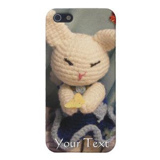 かわいいAmigurumiのバニーウサギ iPhone 5 Cover