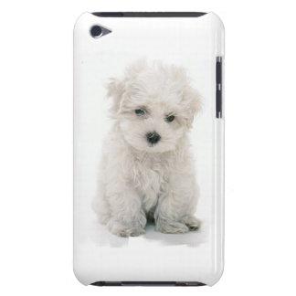 かわいいBichon FriseのiTouchの場合 Case-Mate iPod Touch ケース