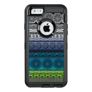 かわいいBohoのプリントのiPhoneの場合 オッターボックスディフェンダーiPhoneケース