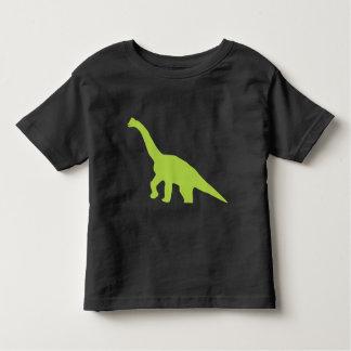 かわいいBrontosaurusの恐竜はTシャツをからかいます トドラーTシャツ