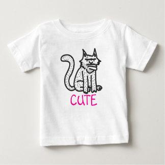 かわいいCAT ベビーTシャツ