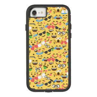 かわいいemoji愛はキスがパターン笑い微笑するのを聞きます Case-Mate tough extreme iPhone 8/7ケース