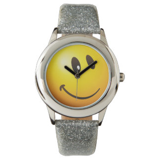 かわいいEmoji見ます 腕時計