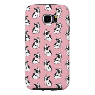 かわいいFrenchieは愛が唯一の方法であることを知っています Samsung Galaxy S6 ケース
